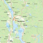 Gunnarskog 1 map